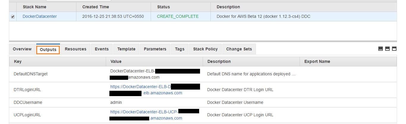 Login URL of UCP and DTR