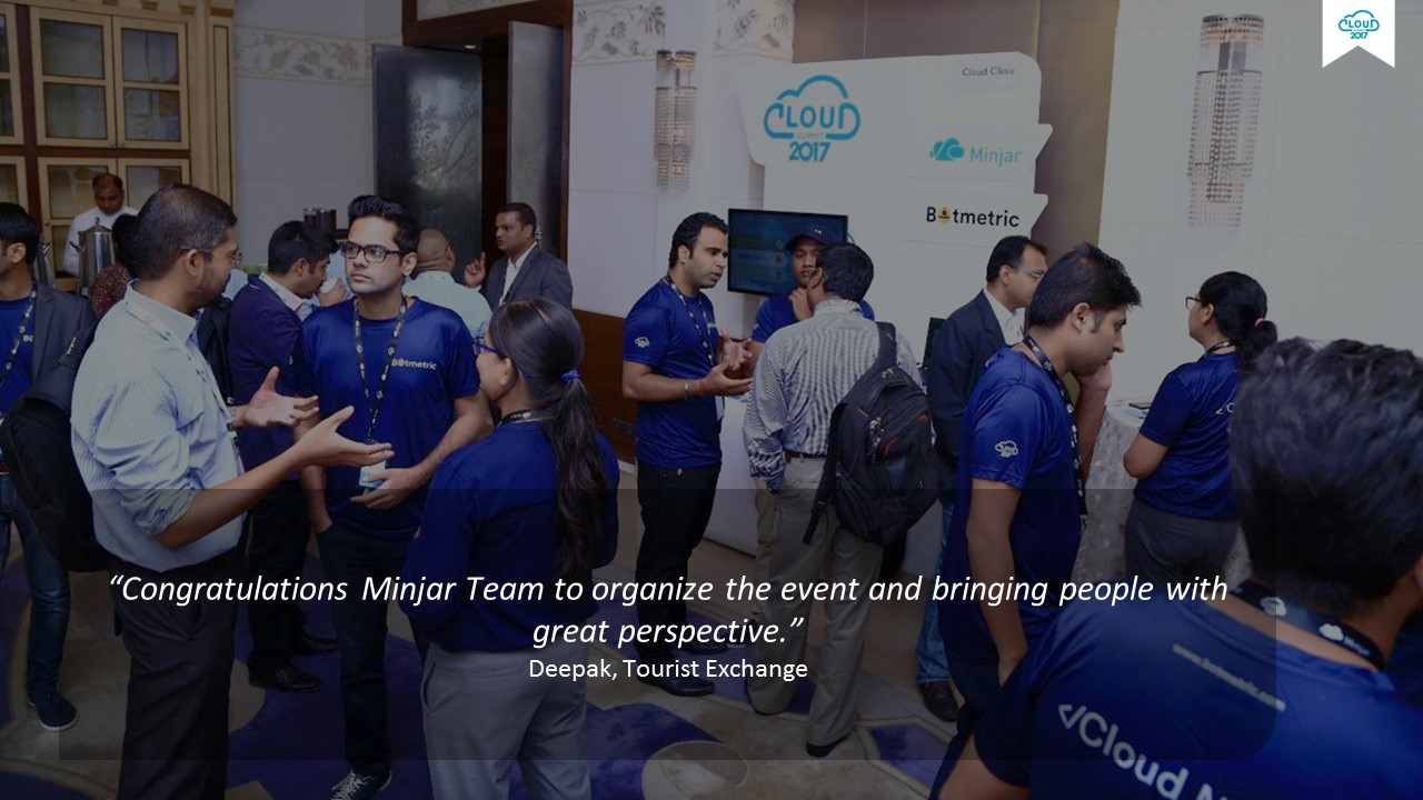 India Cloud Summit- Feedback for Minjar