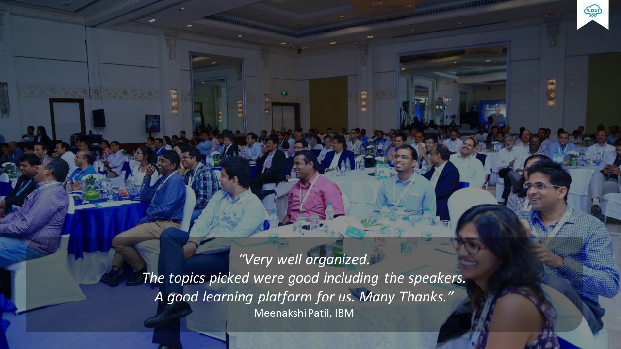 India Cloud Summit 2017-Feedback- IBM